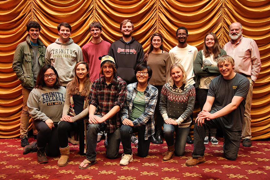Some Cinestudio staff members - November 2015